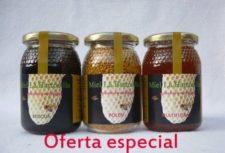 Oferta especial de miel y polen